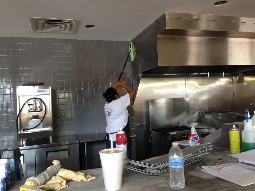 Rusty Tacos Kitchen - Restaurant Post Construction Cleaning Service ...
