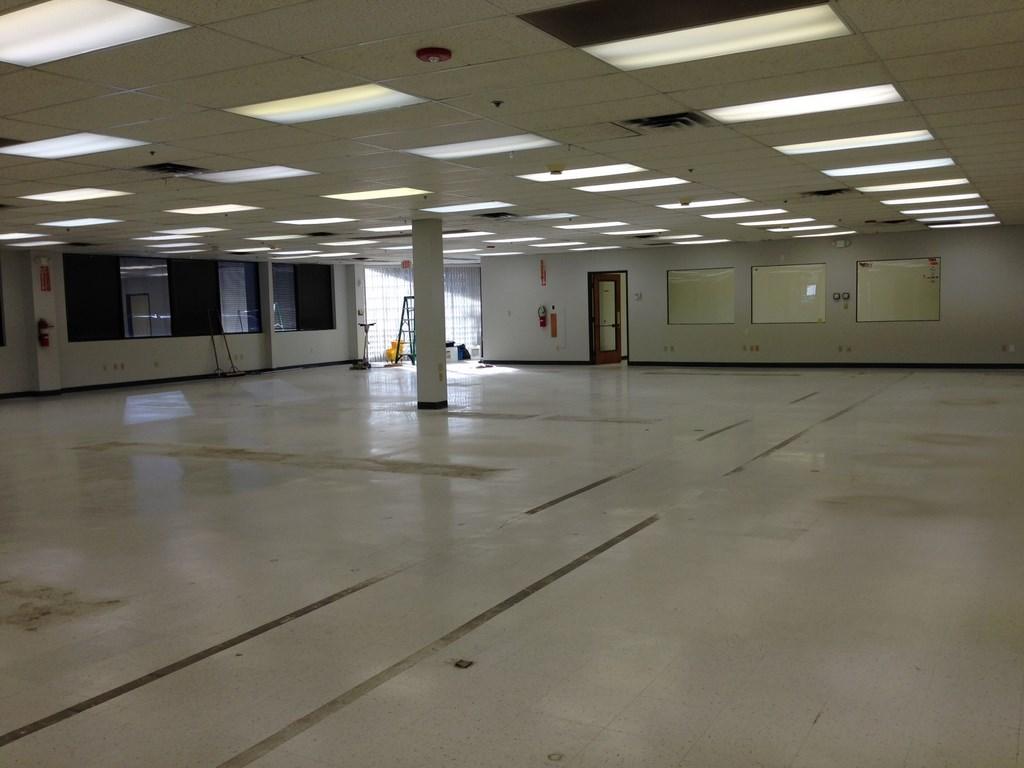 Huge Warehouse Office Strip And Wax Floors In Irving
