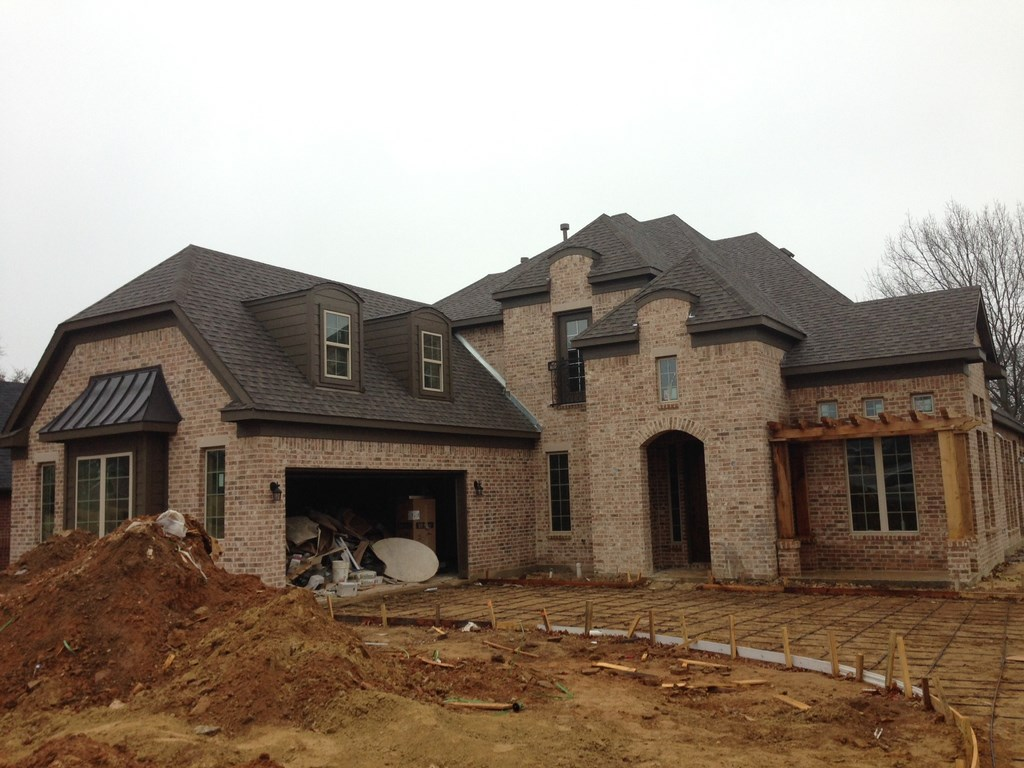 Residential new home post construction clean up in corinth for Building a house in texas