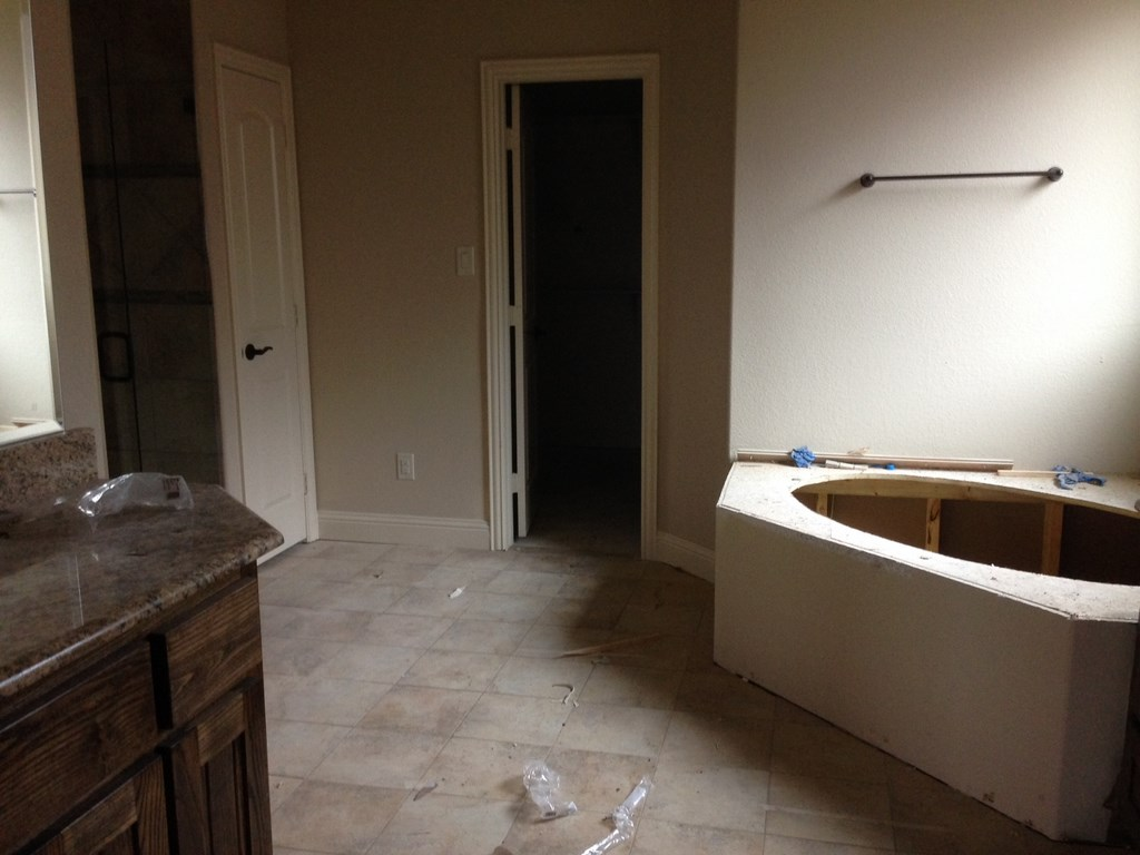 Residential new home post construction clean up in corinth - Building a new home ...