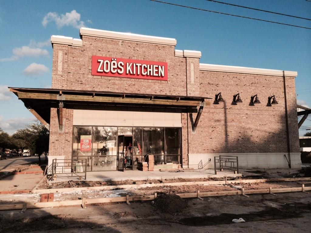 Zoe S Kitchen Houston Tx Final Post Construction Clean Up