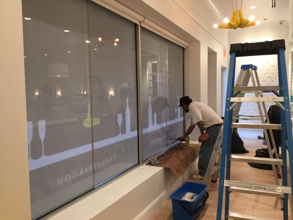 Bar Cleaning Service : Dry bar final post construction cleaning service in
