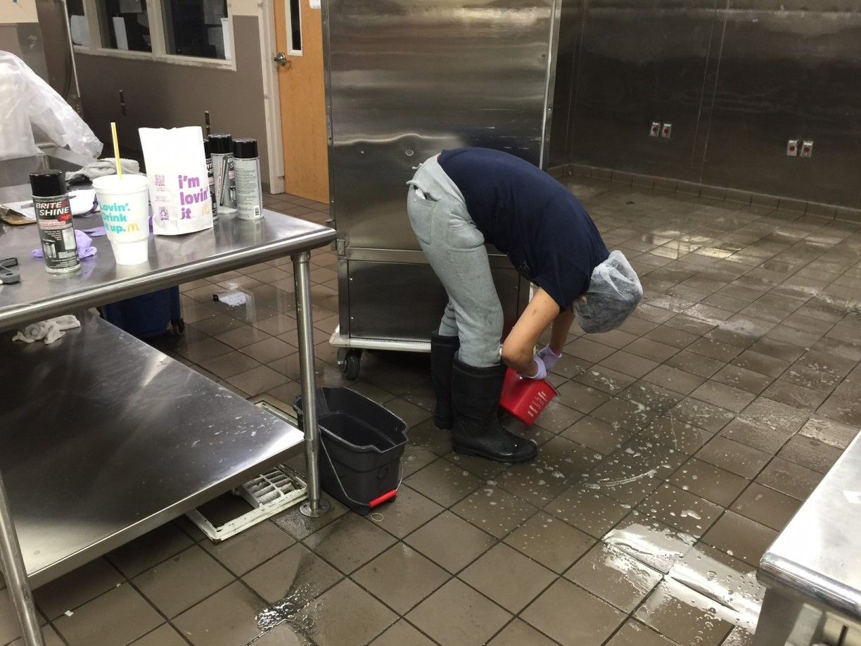 JPS Hospital Kitchen Heavy Duty Deep Cleaning in Fort Worth, TX 014 ...