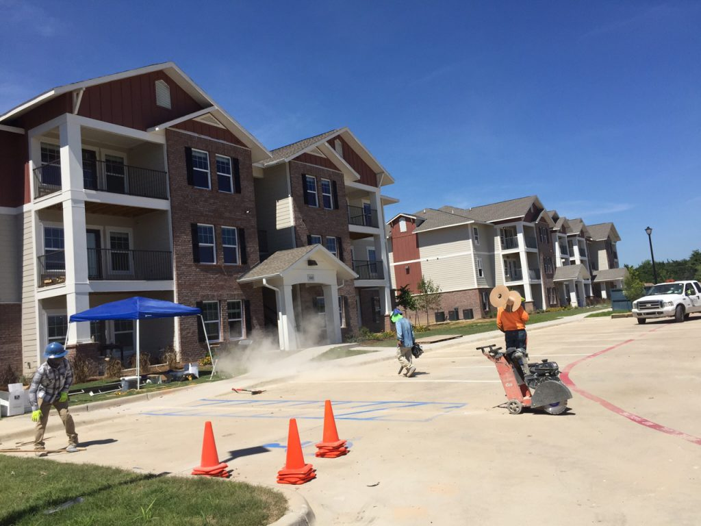 Construction Clean Up Services : Apartment complex post construction clean up in emory tx