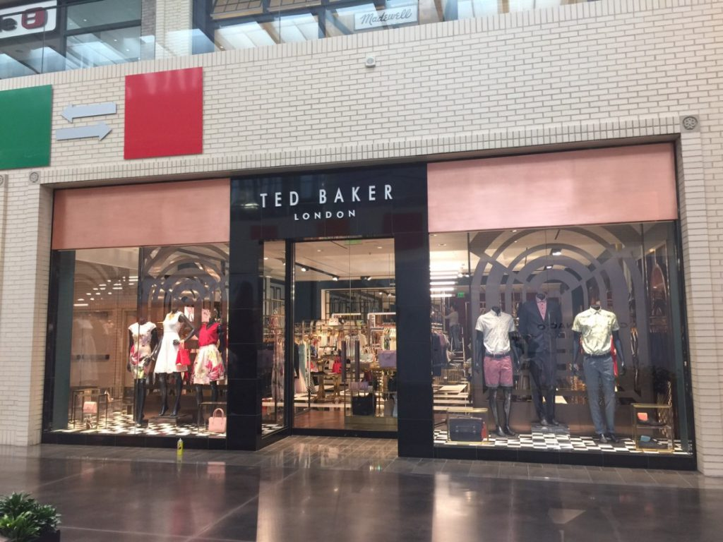 Ted Baker Store Post Construction Cleaning At North Park