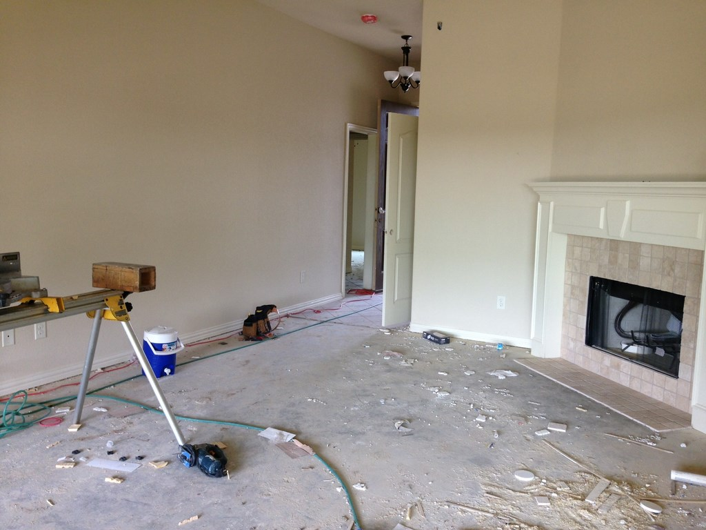 New Beautiful House Rough Post Construction Clean Up Service In Justin Texas 13