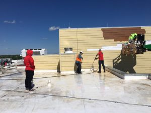 Hotel Marriott Roof Post Construction Cleaning in Van TX 008 300x225 Pressure Washing & Power Washing Services