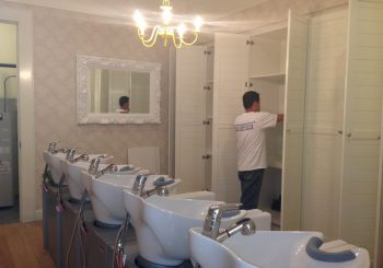 Dry Bar Post Construction Cleaning Service in Houston TX 02 d7ab25058d2f33a5f15443b34bf93a05 350x245 100 crop Beauty Hair Saloon Chain Post Construction Cleaning in Houston, TX