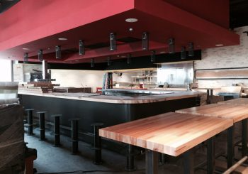 Hopdoddy Post Construction Cleaning Service in Addison TX Phase 1 02 85a6883a9376cbf98489af92b30f8a4d 350x245 100 crop Hopdoddys Restaurant/ Bar Post Construction Cleaning Service in Addison, TX Phase 1